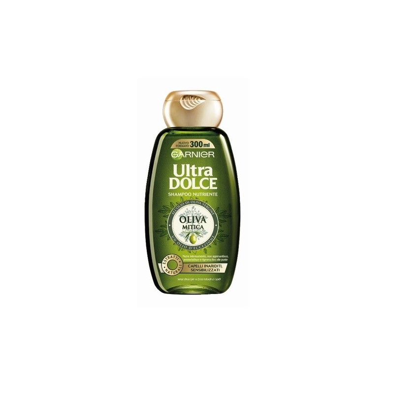 GARNIER - Ultra Dolce Shampoo nutriente all'oliva mitica 300 ml
