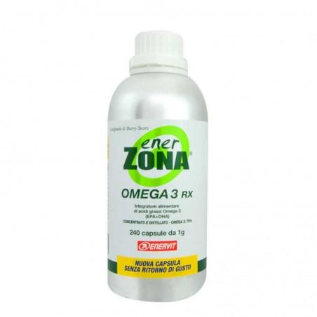 enerzona omega 3 rx - integratore alimentare 240 capsule