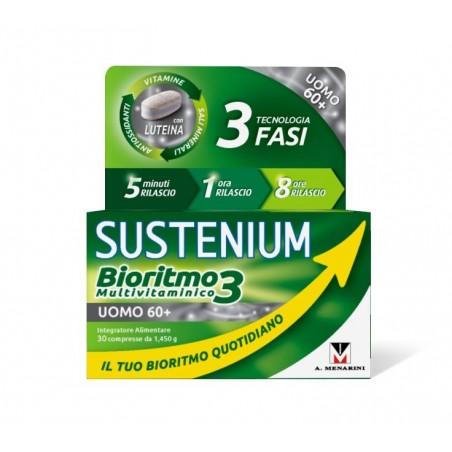 MENARINI - sustenium bioritmo3 uomo60+ integratore multivitaminico 30 compresse