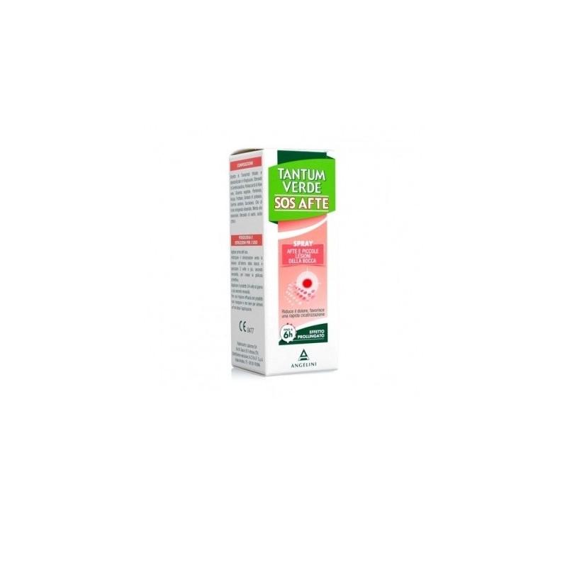 Angelini - tantum verde sos afte - Spray contro l'afte e lesioni della bocca 20 ml