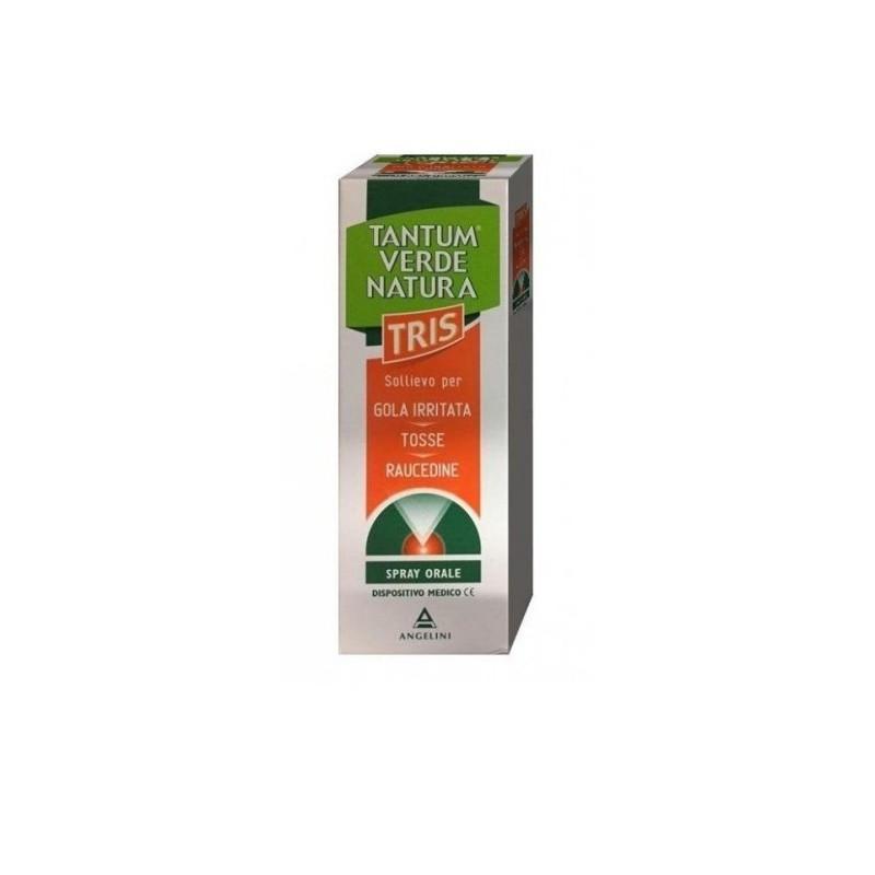 Angelini - tantum verde natura tris spray orale per la gola irritata 15 ml