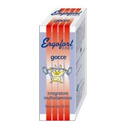 Integratore Alimentare Per Bambini Multivitaminico Ergofort Junior Gocce 30 Ml