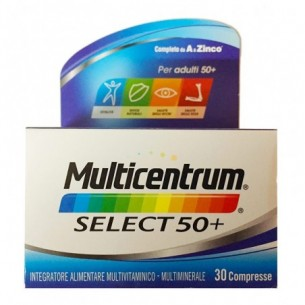 Select 50+ - 30 compresse integratore di vitamine e minerali