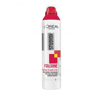 spray studio line fix&shine fissaggio iperforte 250 ml