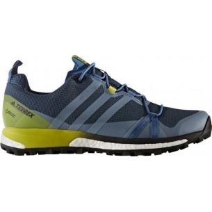 terrex agravic gtx  scarpa trail running uomo eu 42 2/3 (articolo di campionario)