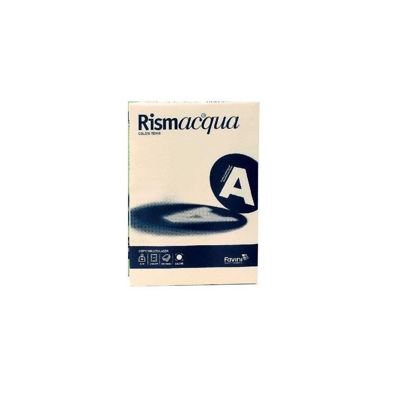 FAVINI - Rismacqua - cartoncino colorato A4 colore camoscio - risma da 125 fogli