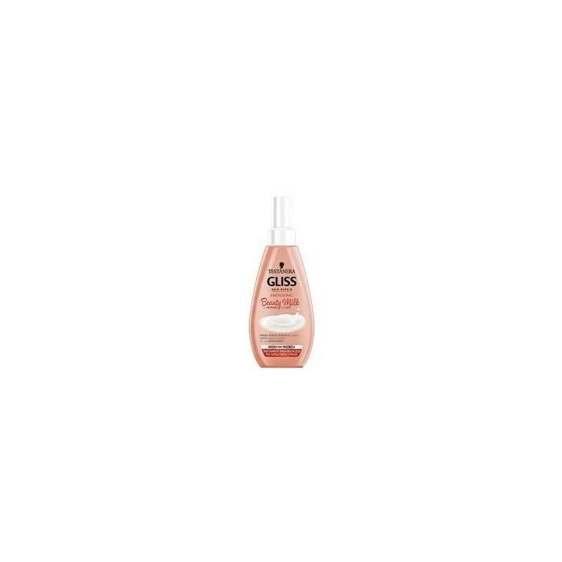 Testanera - Gliss Beauty Milk Energizing - Trattamento rinforzante per capelli 150 ml