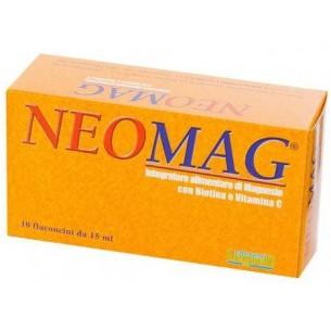 Neomag 10 flaconcini da 15 ml - integratore per il benessere intestinale