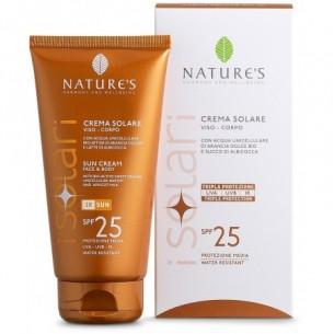 Nature's Crema solare viso-corpo Spf25 - tubo da 150 ml