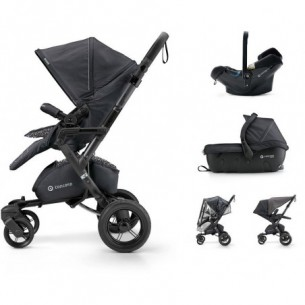 Trio Concord Neo Travel Set - sistema modulare Raven Black