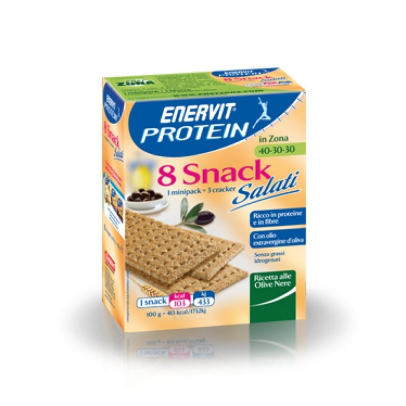 Enervit - Snack Proteico Salato Olive