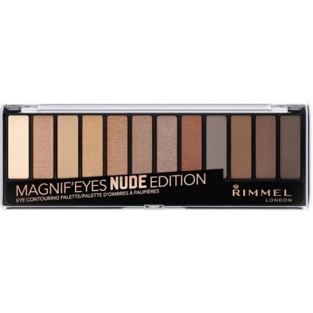 Rimmel - Magnif'Eyes - palette di ombretti n.001 nude edition
