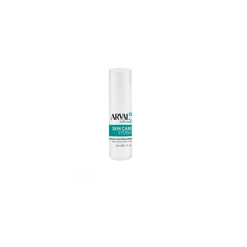 Arval - Skin care System - Siero lifting antietà d-tox 30 ml