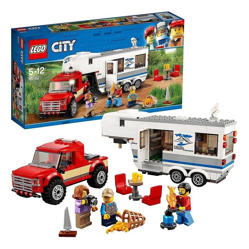 LEGO - city 60182 - Pickup e Caravan