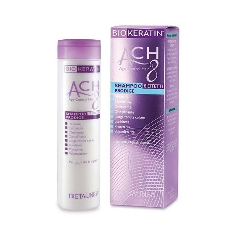 Dietalinea - biokeratin ach 8 - Shampoo prodige idratante 200 Ml