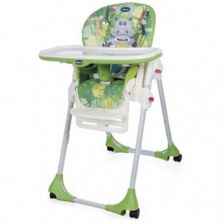 Chicco - Seggiolone Polly Easy Happy Jungle