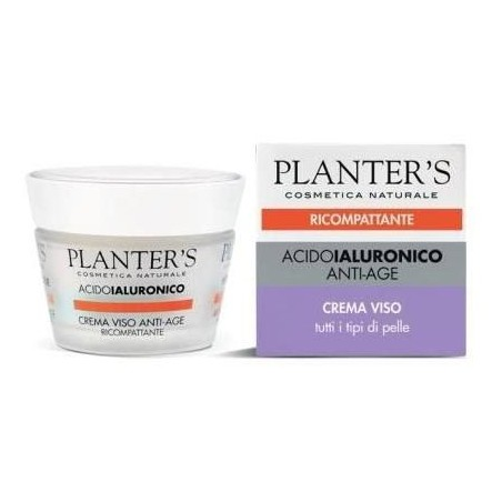 PLANTER S - acido ialuronico anti-age - crema viso ricompattante 50 ml