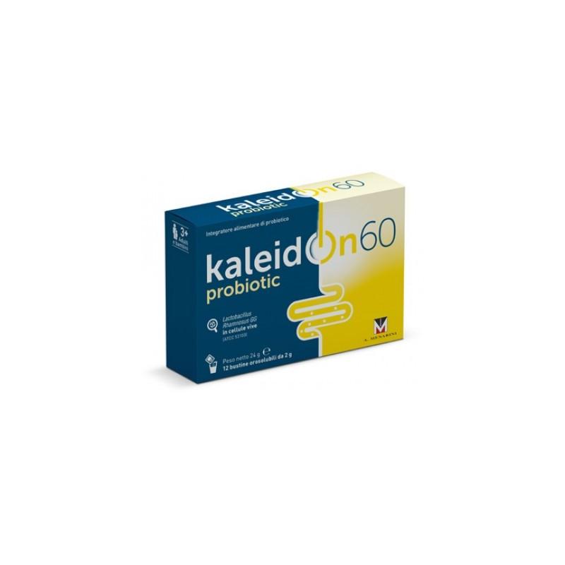MENARINI - Kaleidon 60 probiotic Integratore di fermenti lattici 12 Bustine