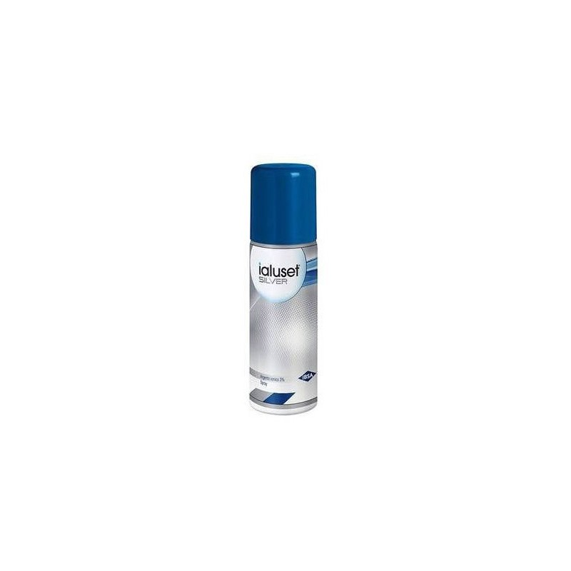 IBSA FARMACEUTICI - Ialuset Silver Polvere Spray 125 ml