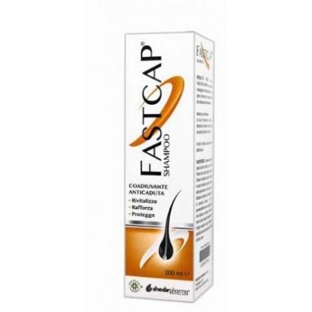 SHEDIR PHARMA - Fastcap - Shampoo rinforzante per capelli secchi e sfibrati 200 ml