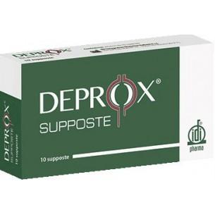 Deprox 10 supposte per prostatiti acute e croniche
