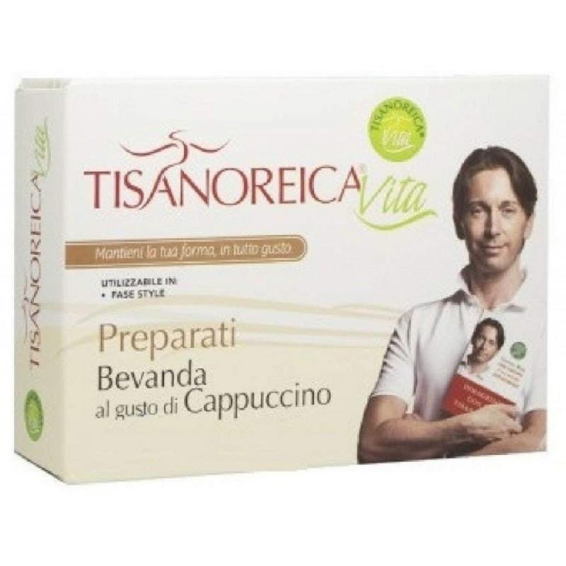 GIANLUCA MECH - Tisanoreica vita - bevanda al gusto cappuccino 4 bustine da 21 g.