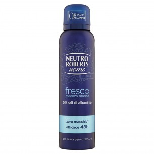 Fresco essenza marina - deodorante da uomo spray 150 ml
