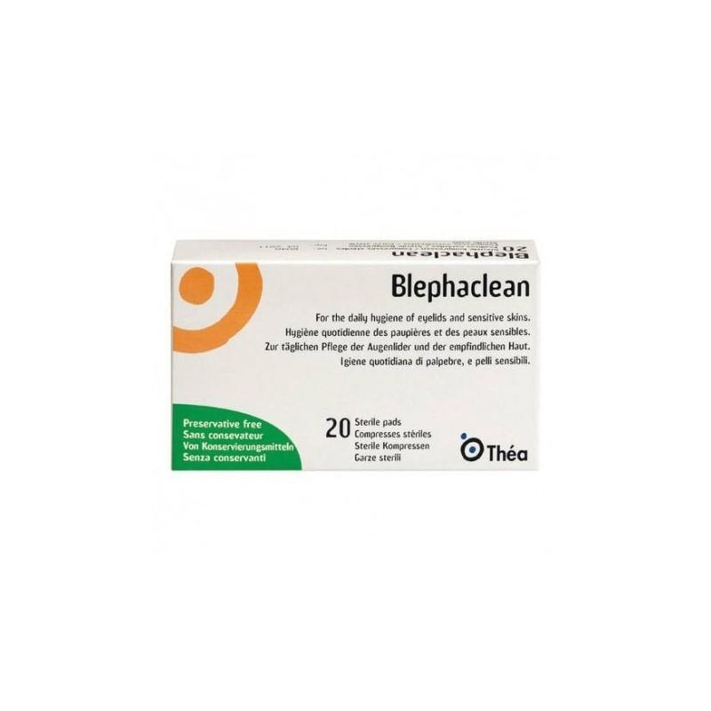 THEA - Blephaclean - 20 Garze sterili per l'igiene oculare