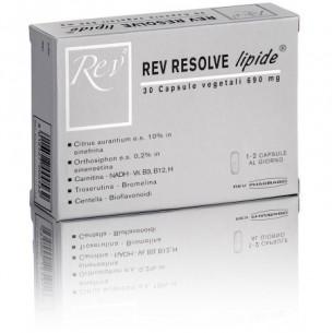 Rev Resolve lipide 30 capsule vegetali per il drenaggio lipidico