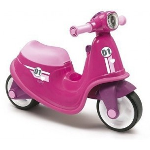 Scooter girl Cavalcabile rosa 18 m+