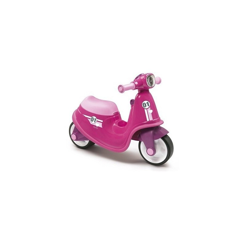 SMOBY - Scooter girl Cavalcabile rosa 18 m+