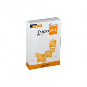 Tricovel PRP plus gel per ricrescita capelli 2 bustine da 15 ml