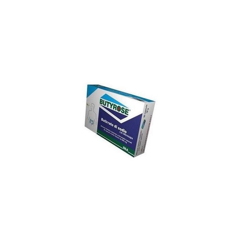 SILA - Butyrose 30 capsule - Alimento dietetico per il benessere intestinale