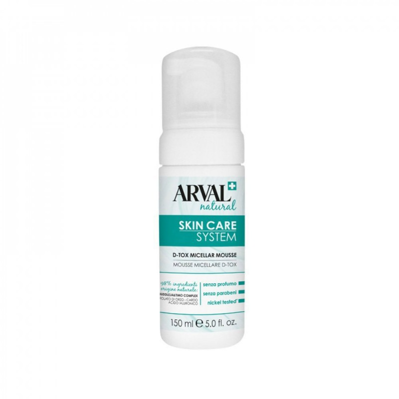Arval - Skin Care system - Mousse Micellare D-Tox 150 ml