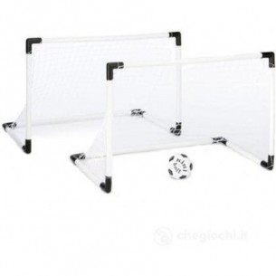 Set 2 Porte Goal Mini 91,5x63 Cm 3-5 anni