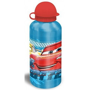 Cars Borraccia in alluminio 500 ml fantasie assortite