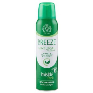 Natural Invisible Green Deodorante Spray 150 Ml