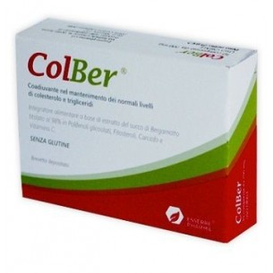 Colber 30 compresse - Integratore alimentare per il colesterolo