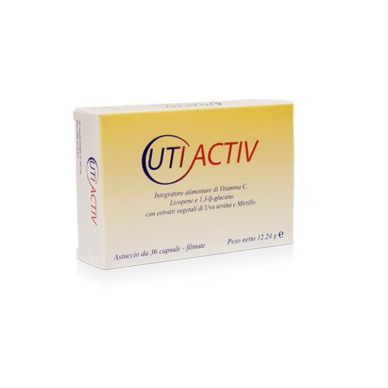 FITOPROJECT - Utiactiv - Integratore Per Cistiti e Infezioni Delle Basse Vie Urinarie 36 Capsule