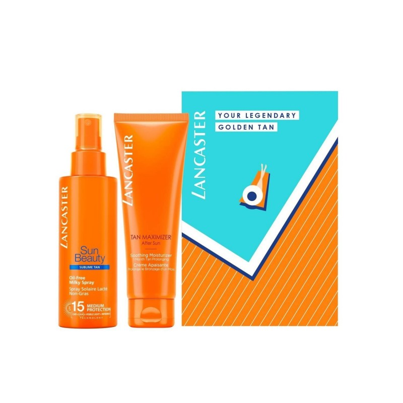 LANCASTER - Kit solare spf15 - Your Legendary Golden Tan