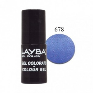 Layba Gel Polish - Smalto semipermanente n. 678 sky high