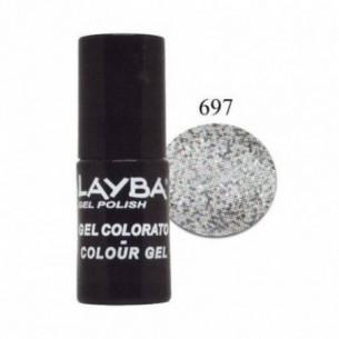 Layba Gel Polish - Smalto semipermanente n. 697 polar holo