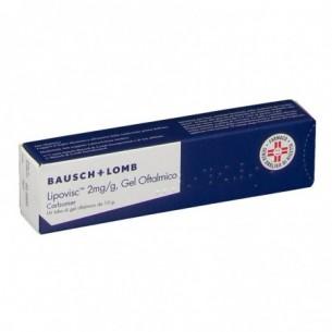 Lipovisc 2 mg/g - gel oftalmico idratante 10 g