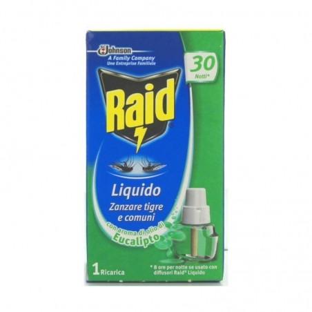 RAID - Liquido Zanzare tigre e comuni 1 ricarica