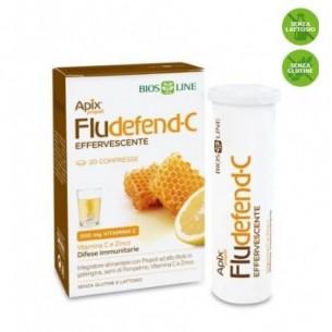 Apix Propoli Fludefend-C Effervescente 20 compresse - integratore alimentare per le difese immunitarie