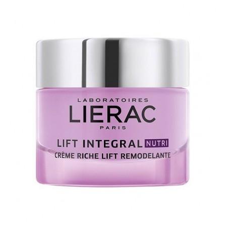 LIERAC - lift integral nutri - crema rimodellante viso per pelle secca 50 ml
