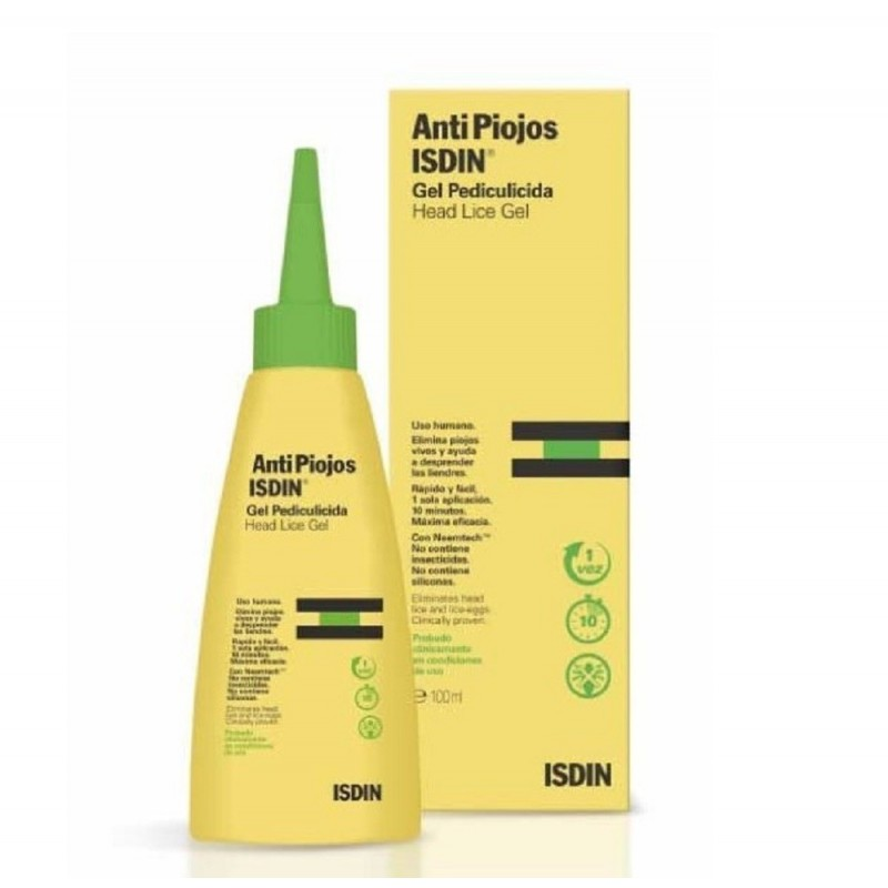 ISDIN - Antipiojos - Gel Antipidocchi 100 ml