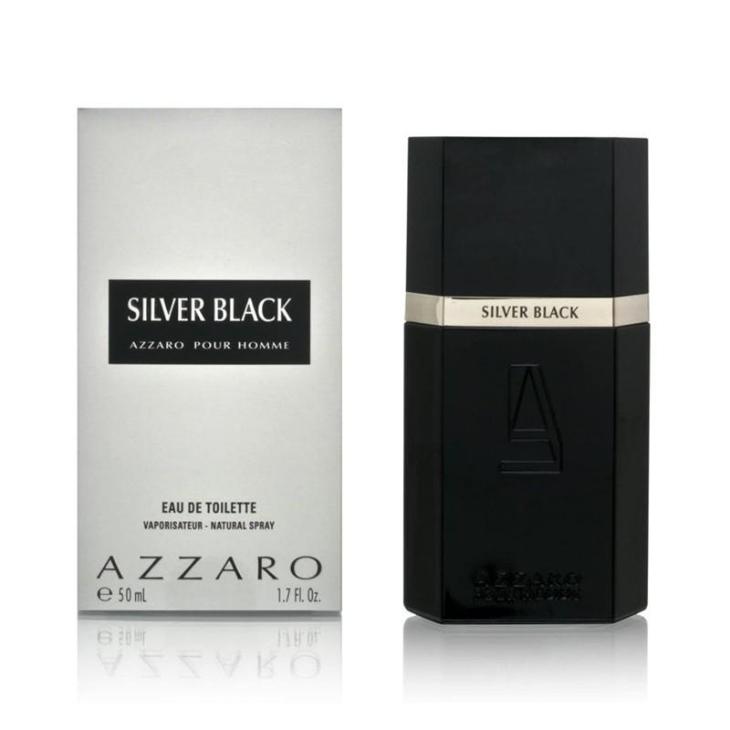 Azzaro - Silver Black - lozione dopobarba 50 ml