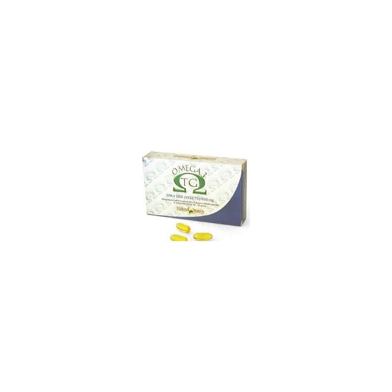 NATURAL BEAUTY - Omega 3 Tg 30 Perle - Integratore Per Il Controllo Del Colesterolo E Dei Trigliceridi