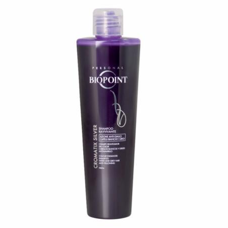 BIOPOINT - Cromatix Silver - Shampoo Ravvivante Azione Anti-Giallo 200 ml